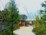 保育園のお庭…